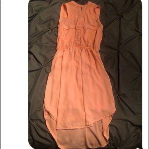 Dresses & Skirts - Sleeveless Coral Dress